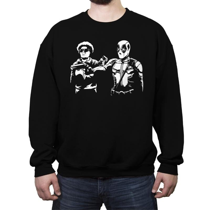 Pool Fiction - Crew Neck Sweatshirt - Crew Neck Sweatshirt - RIPT Apparel