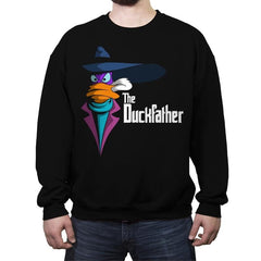 The Duckfather - Crew Neck Sweatshirt - Crew Neck Sweatshirt - RIPT Apparel