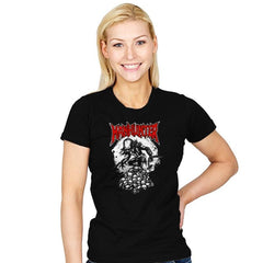 Manhunter - Heavy Metal Machine - Womens - T-Shirts - RIPT Apparel