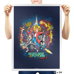 Workers of the Future Vol 2 - Prints - Posters - RIPT Apparel