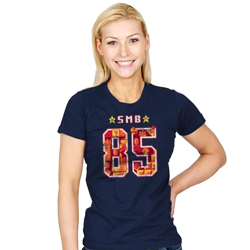 Class of 85 - Womens - T-Shirts - RIPT Apparel