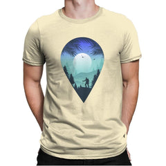 Pin Your Destination - Mens Premium - T-Shirts - RIPT Apparel