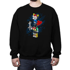 I'll Build The Head Reprint - Crew Neck Sweatshirt - Crew Neck Sweatshirt - RIPT Apparel