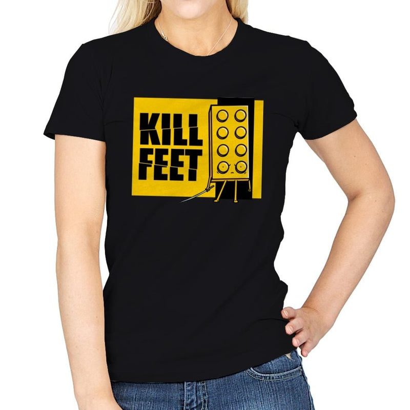 Kill Feet - Womens - T-Shirts - RIPT Apparel