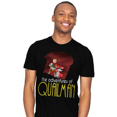 Adventures of Quailman - Mens - T-Shirts - RIPT Apparel