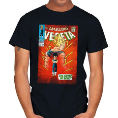 The Amazing Vegeta Exclusive - Mens - T-Shirts - RIPT Apparel