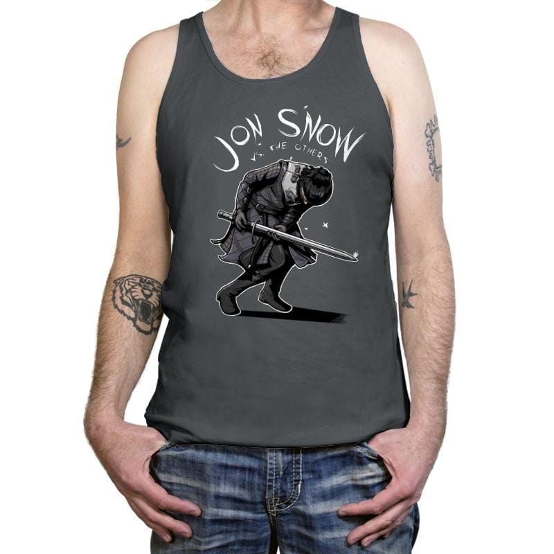 Jon Snow vs The Others - Tanktop - Tanktop - RIPT Apparel