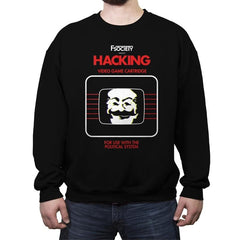 Hacking - Crew Neck Sweatshirt - Crew Neck Sweatshirt - RIPT Apparel