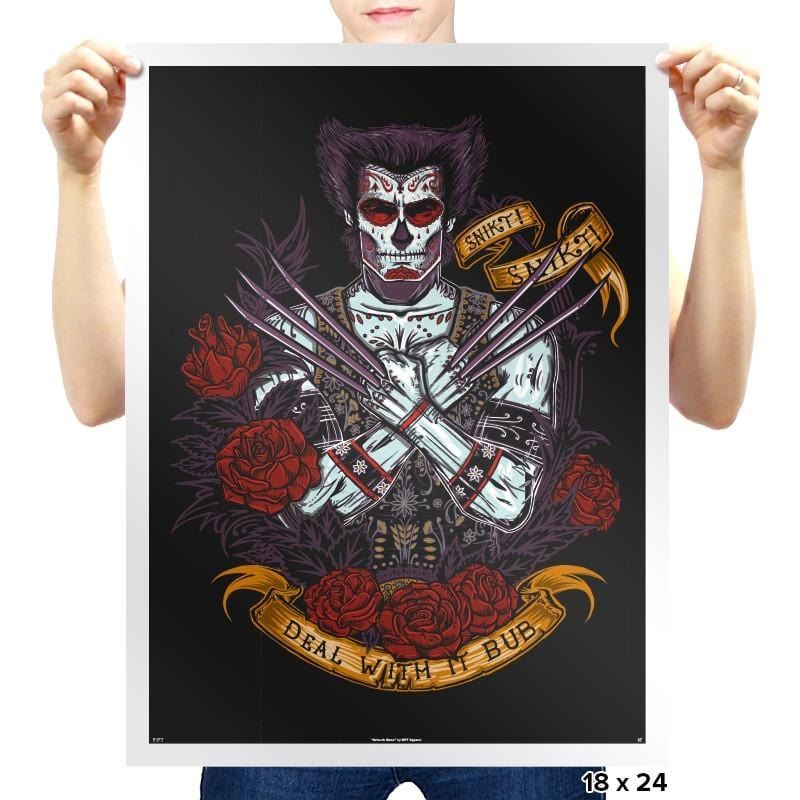 Day of the Dead Reprint - Prints - Posters - RIPT Apparel