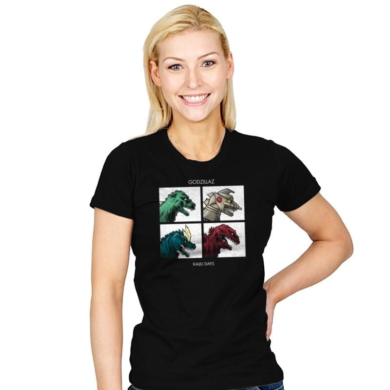 Kaiju Days REMASTERED Exclusive - Womens - T-Shirts - RIPT Apparel