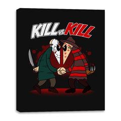Kill VS Kill - Canvas Wraps - Canvas Wraps - RIPT Apparel