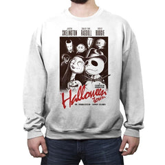 Halloweenblanca - Crew Neck Sweatshirt - Crew Neck Sweatshirt - RIPT Apparel