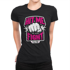 Fight Club Entrance - Womens Premium - T-Shirts - RIPT Apparel