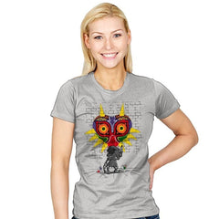 Graffiti Mask - Womens - T-Shirts - RIPT Apparel