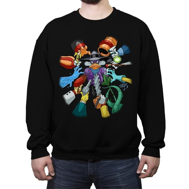 Darkwick Duck - Crew Neck Sweatshirt - Crew Neck Sweatshirt - RIPT Apparel