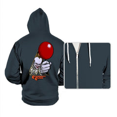 A Clockwork Clown - Hoodies - Hoodies - RIPT Apparel