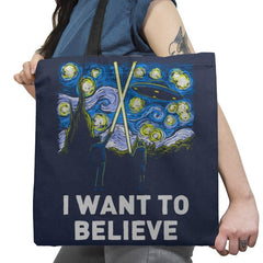 Starry Files Exclusive - Tote Bag - Tote Bag - RIPT Apparel