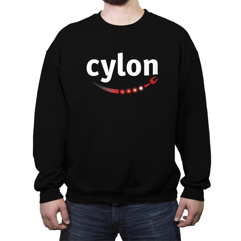 Cylon - Crew Neck Sweatshirt - Crew Neck Sweatshirt - RIPT Apparel