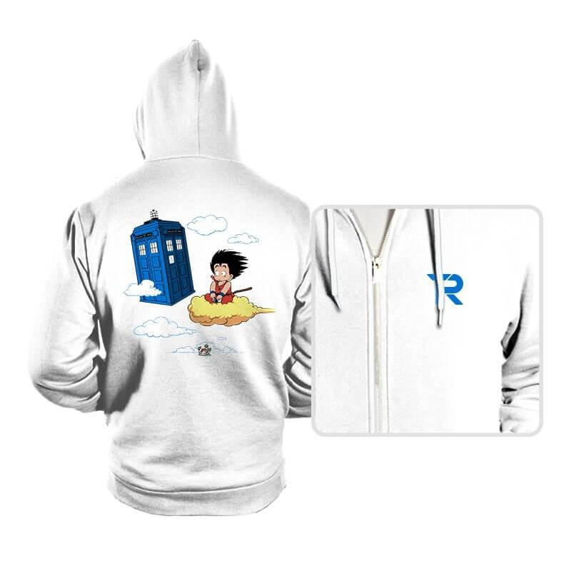 The Cloud and the Phone Box - Hoodies - Hoodies - RIPT Apparel