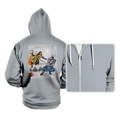 Fire vs Ice - Hoodies - Hoodies - RIPT Apparel