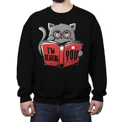 I'm Reading You - Crew Neck Sweatshirt - Crew Neck Sweatshirt - RIPT Apparel