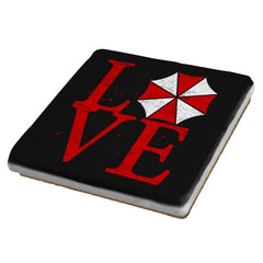 Umbrella Love Exclusive - Dead Pixels - Coasters - Coasters - RIPT Apparel