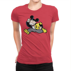 Mousopoly - Womens Premium - T-Shirts - RIPT Apparel