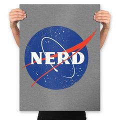 Space Nerd - Prints - Posters - RIPT Apparel