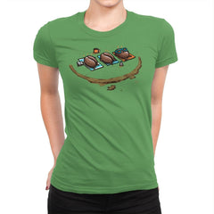Roasted Coffee - Womens Premium - T-Shirts - RIPT Apparel