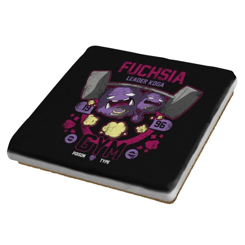 Fuchsia Gym - New Year's Evolutions - Coasters - Coasters - RIPT Apparel