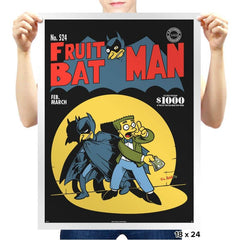 Fruitbat Man - Prints - Posters - RIPT Apparel