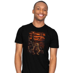 Scream In Modor - Pop Impressionism - Mens - T-Shirts - RIPT Apparel