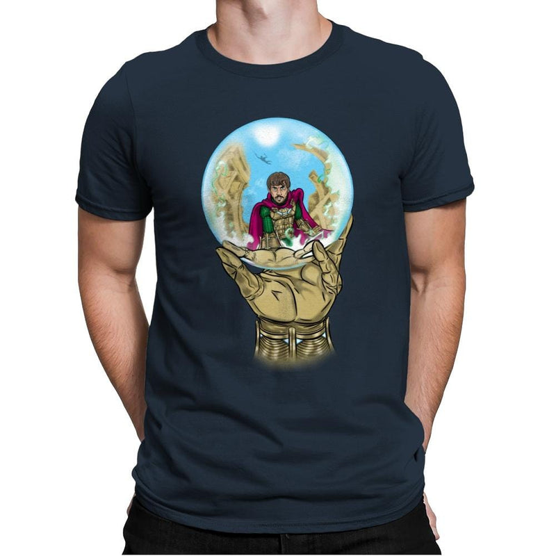 Mysterio Escher - Mens Premium - T-Shirts - RIPT Apparel