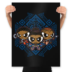 The Pantherpuff Girls Exclusive - Prints - Posters - RIPT Apparel