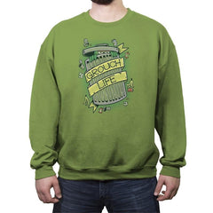 Grouch Life - Crew Neck Sweatshirt - Crew Neck Sweatshirt - RIPT Apparel