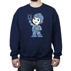 Big Mega Boy - Crew Neck Sweatshirt - Crew Neck Sweatshirt - RIPT Apparel