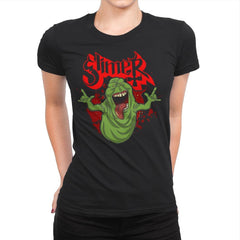 Slimy Ghost - Womens Premium - T-Shirts - RIPT Apparel