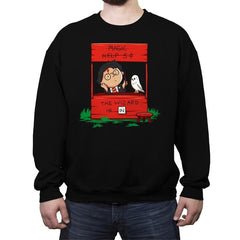 Harry The Wizard - Crew Neck Sweatshirt - Crew Neck Sweatshirt - RIPT Apparel