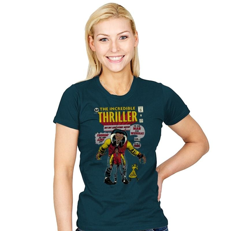 The Incredible Thriller - Womens - T-Shirts - RIPT Apparel