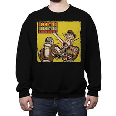 Rock'em Sock'em Killers - Crew Neck Sweatshirt - Crew Neck Sweatshirt - RIPT Apparel