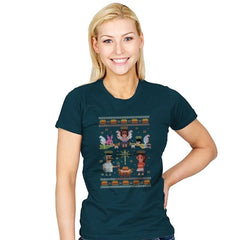 A Juicy Delicious Christmas - Womens - T-Shirts - RIPT Apparel