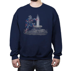 Optimusian Legend - Crew Neck Sweatshirt - Crew Neck Sweatshirt - RIPT Apparel