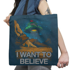 Believe In the Cosmos Exclusive - Tote Bag - Tote Bag - RIPT Apparel
