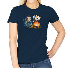Stay-Burnt, Marshmallow Man Exclusive - Womens - T-Shirts - RIPT Apparel