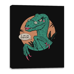 Clever Clever Girl - Canvas Wraps - Canvas Wraps - RIPT Apparel