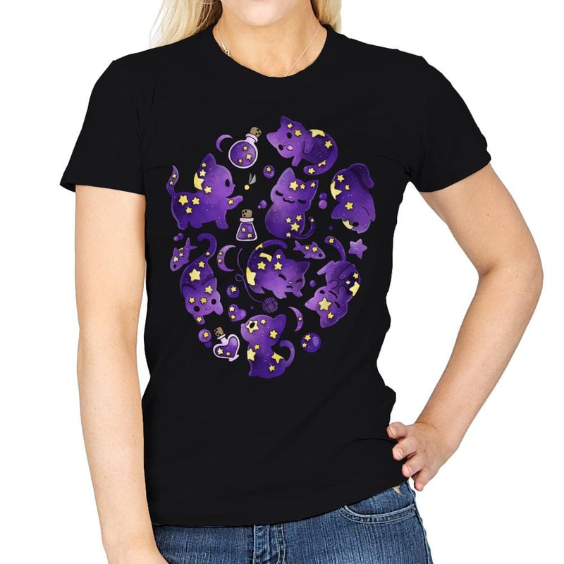 Cat Star - Womens - T-Shirts - RIPT Apparel