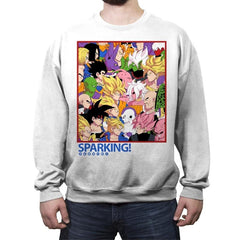 Sparking! - Crew Neck Sweatshirt - Crew Neck Sweatshirt - RIPT Apparel