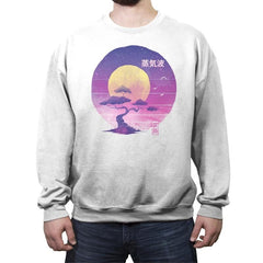 Bonsai Wave - Crew Neck Sweatshirt - Crew Neck Sweatshirt - RIPT Apparel