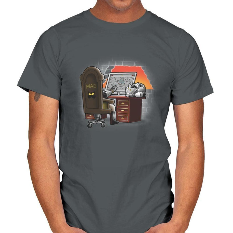 Madsweeper - Mens - T-Shirts - RIPT Apparel