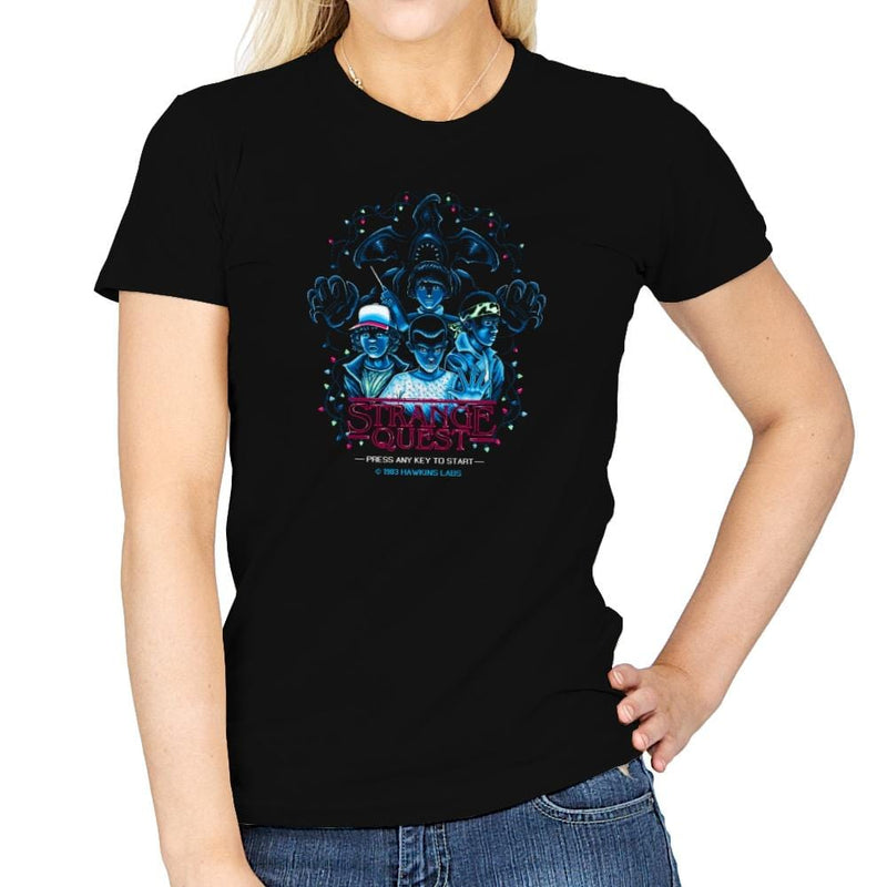 Strange Quest 1983 Exclusive - Womens - T-Shirts - RIPT Apparel